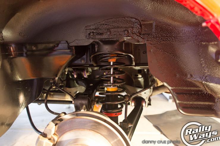Miata Rear Suspension Redone