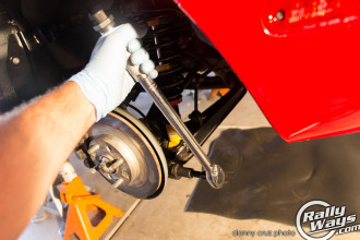 Use a torque wrench to finish the job.