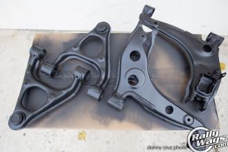 Miata suspension control arms restored