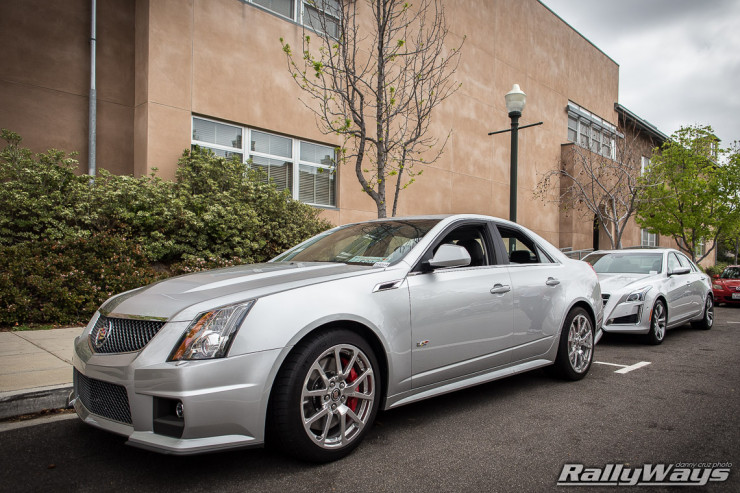 Brand New Cadillac CTS-V Hanging Out in Town