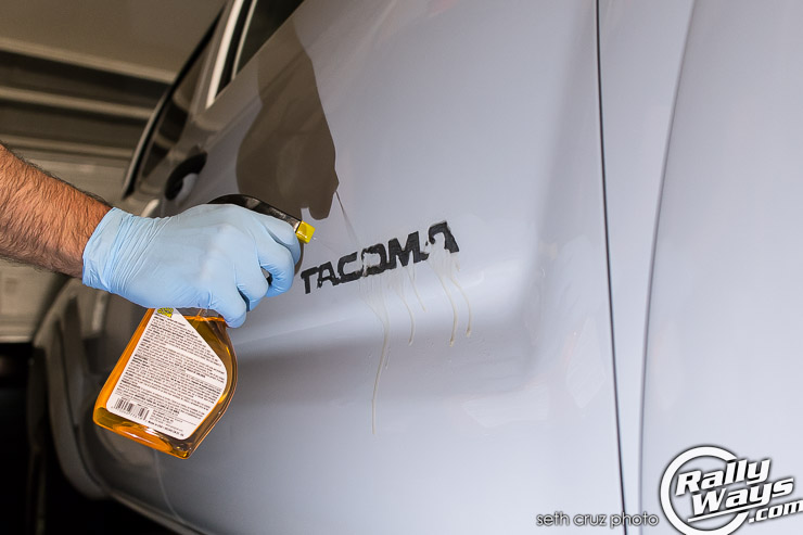 Using Goo Gone On Car Paint
