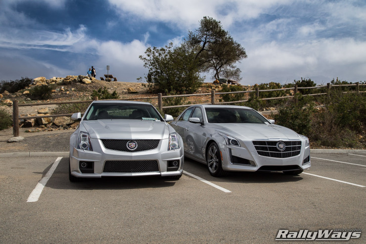 Sporty Cadillac Pair - CTS-V and CTS Vsport