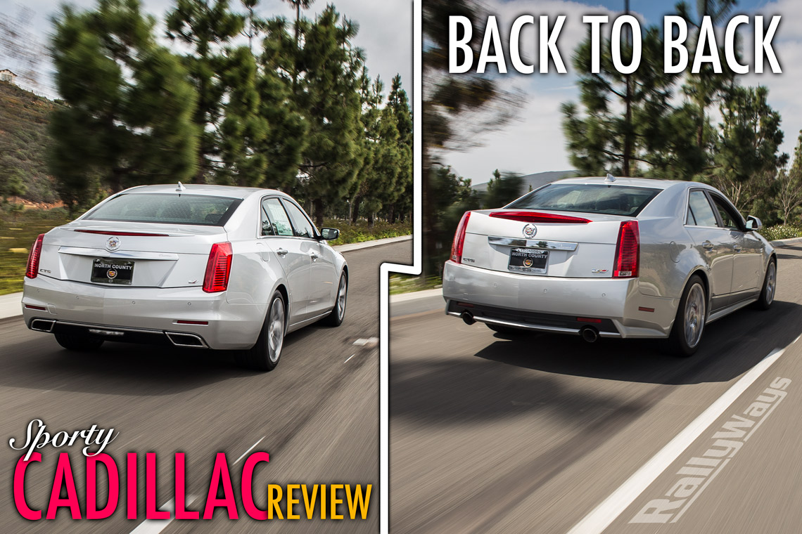 Sporty Cadillac Review Back to Back – CTS-V and CTS Vsport Twin Turbo
