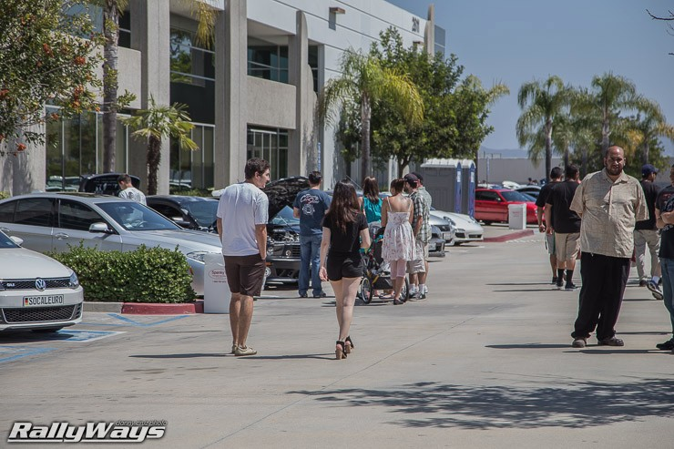 Walking the Show at HRE Open House 2014