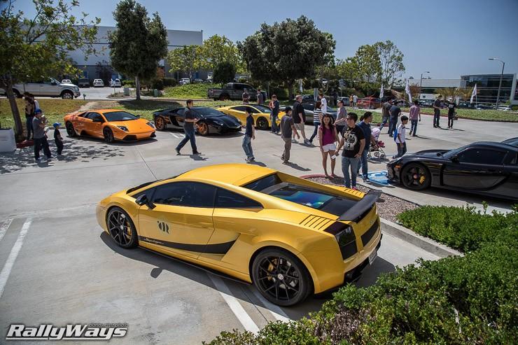 Lamborghini Gallardo Superleggera High Above