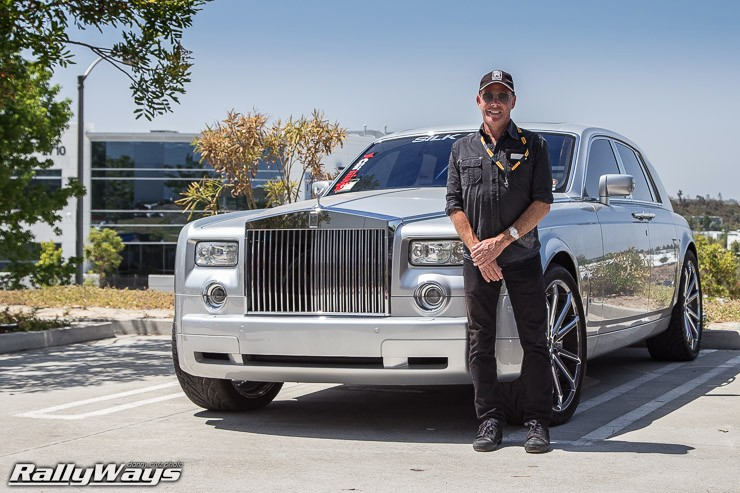 Dr. Marty and his Rolls-Royce Phantom