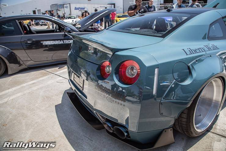 Liberty Walk Nissan GT-R Rear