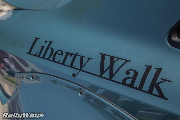 Liberty Walk on Blue