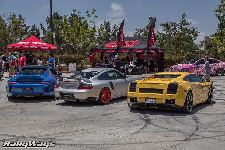 Porsche 991, 997 and Gallardo