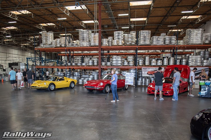 Inside the HRE Performance Wheels Warehouse
