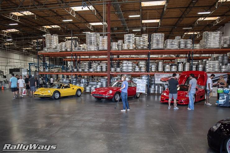 Inside the HRE Performance Wheels Warehouse