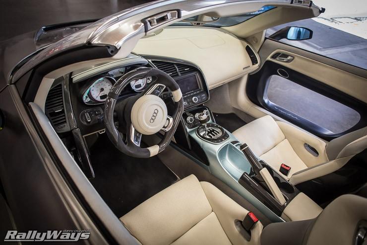 Inside the PPI Razor Audi R8