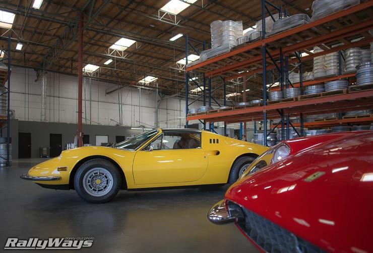 Vintage Ferrari - Dino GTS