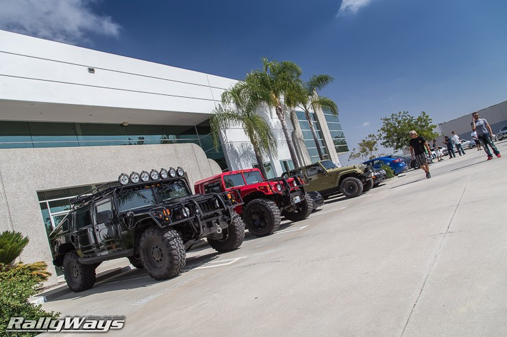 As Eclectic as Car Shows Get - HREOH 2014
