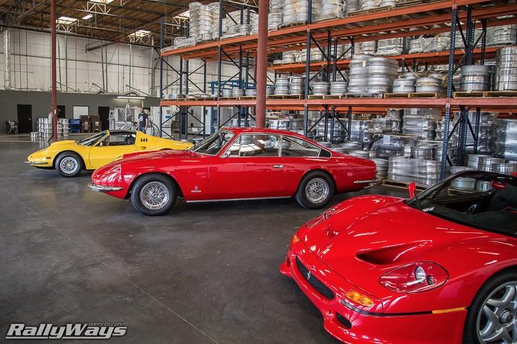 Vintage Ferraris at HREOH 2014