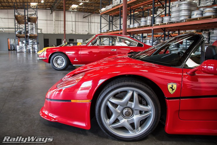 Ferrari F50 at HREOH 2014