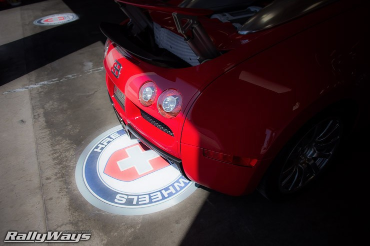 Veyron and HRE Wheels Logo