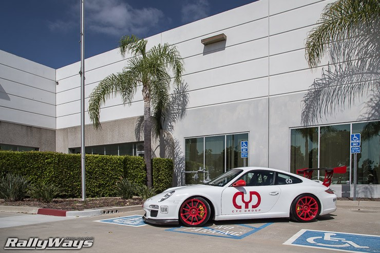 A Closer Look at this Lone Porsche 911 GT3 RS