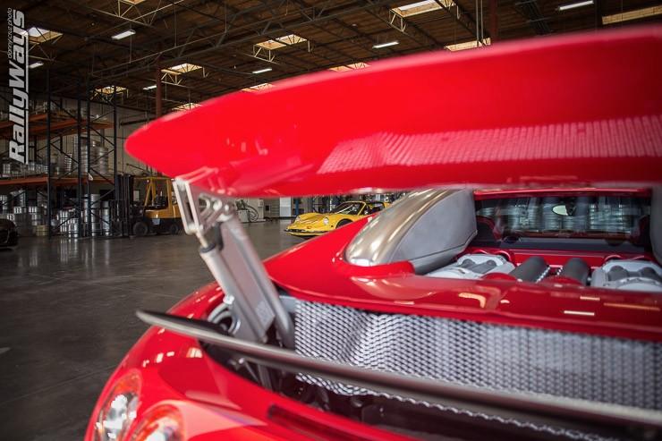 Bugatti Veyron Spoiler
