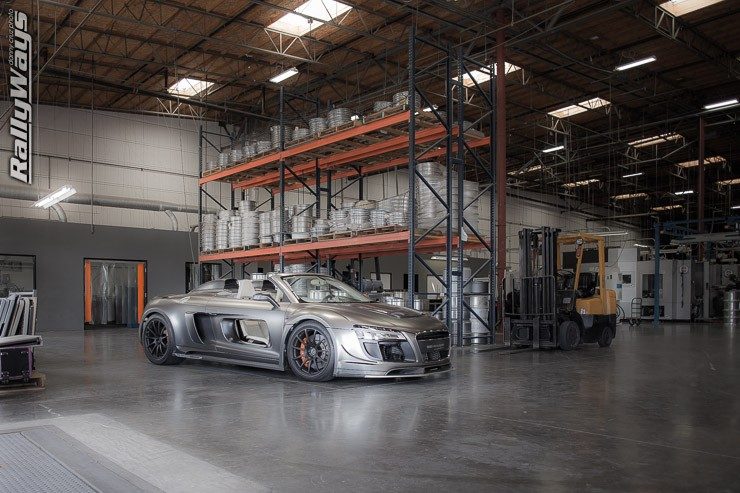 PPI Razor Audi R8 At HRE Open House 2014