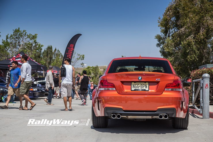 BMW 1M at HREOH 2014