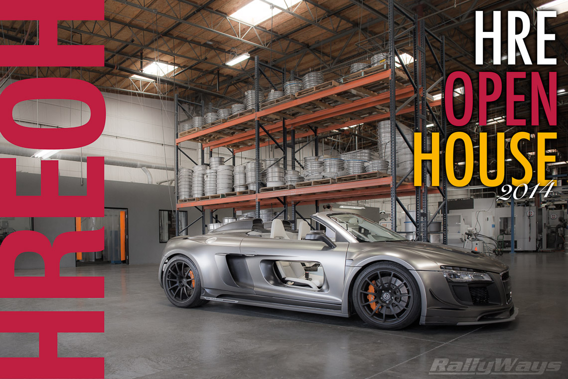 HRE Open House 2014 RallyWays Cover Shot