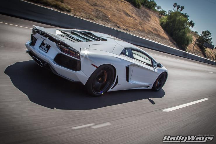 Lamborghini Aventador Rolling Shot