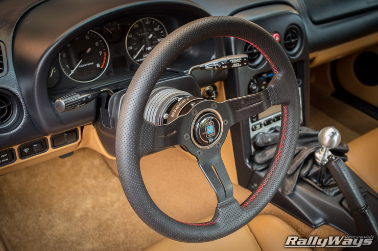 NRG Quick Release Miata with Nardi Wheel