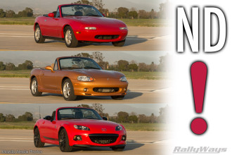 ND Miata Officially Announced for September 3rd 2014