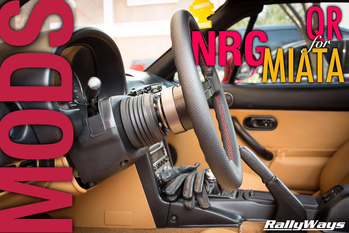 NRG Quick Release 2.0 for Miata