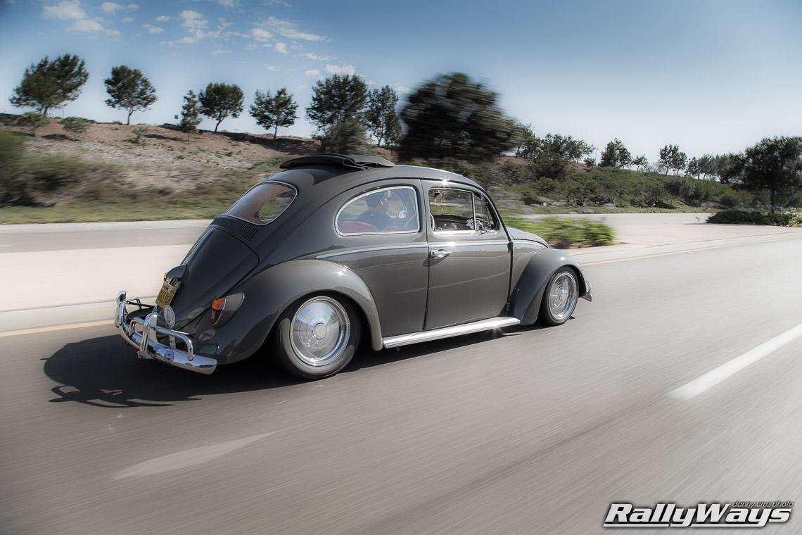 1962 Volkswagen Beetle Rolling