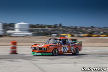 1973 BMW 3.0 CSL Wheel to Wheel Racing