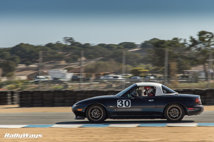 More Miata track action on Sunday's hot laps - MRLS 2014 - RallyWays