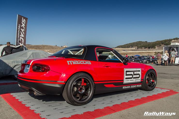 Mazda MX-5 Super 25 at Miatas at Mazda Raceway 2014