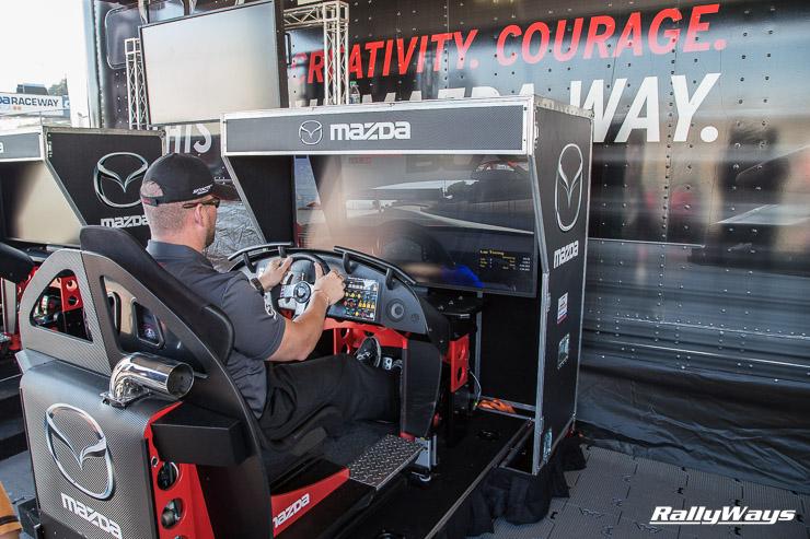 Mazda and Skip Barber MX-5 racing simulator