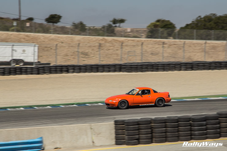 949 Racing Miata at Mazda Raceway Laguna Seca 2014