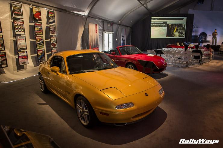 Mazda MX-5 Rare Fastback Coupe
