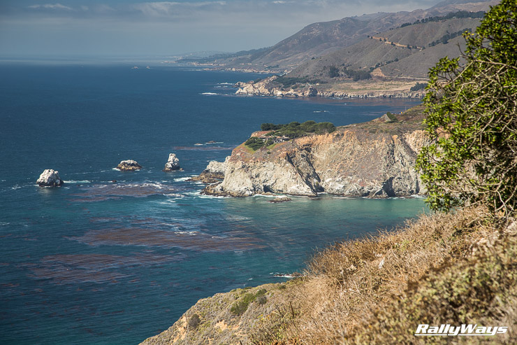 Big Sur drive scenic route  after MRLS