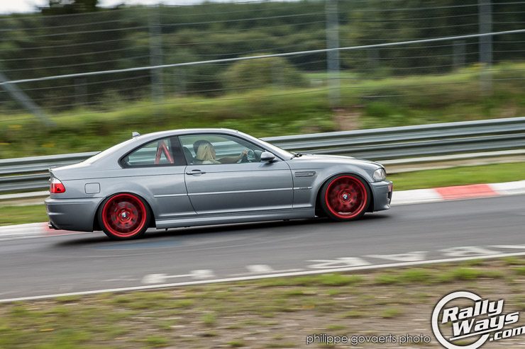 BMW E46 M3 at the Nurburgring