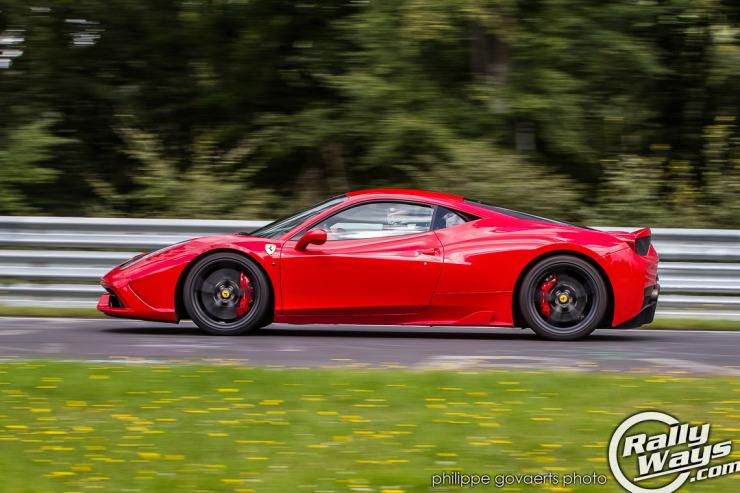 Ferrari 458 Nordschleife Lap