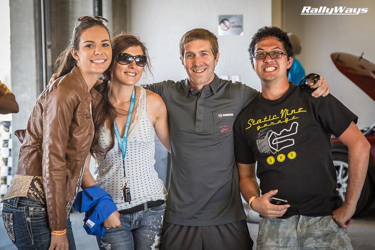 All smiles at Miatas at Mazda Raceway
