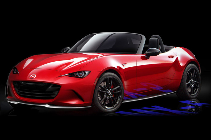 The Mysterious Last 2016 New Miata Rendering