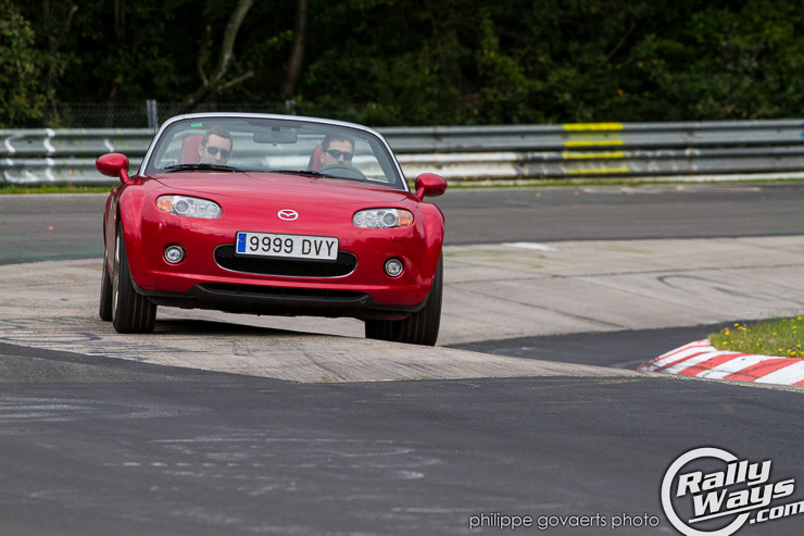 Mazda MX-5 Lapping the Nürburgring