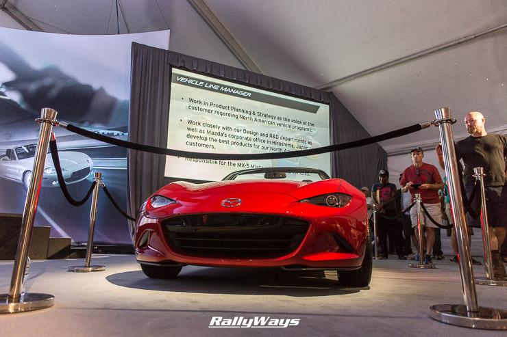 New 2016 Mazda Miata