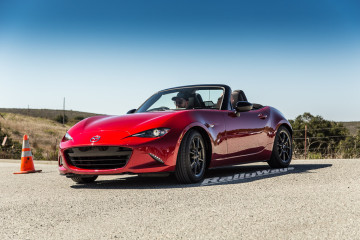 New Mazda MX-5 Miata ND at Mazda Raceway Laguna Seca