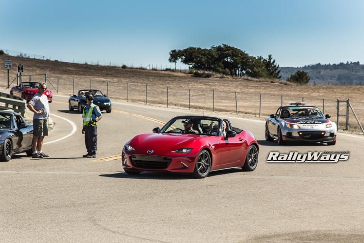 New Mazda MX-5 Parade