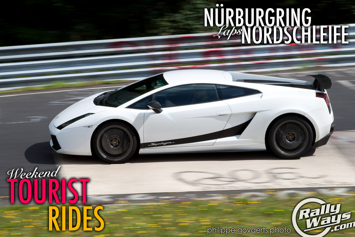 Nürburgring Laps During Weekend Tourist Rides Nordschleife