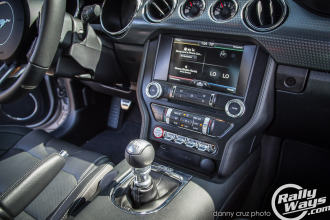 2015 Ford Mustang Interior Controls