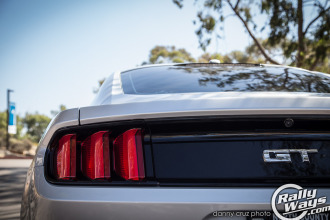 2015 Ford Mustang Tail Light View