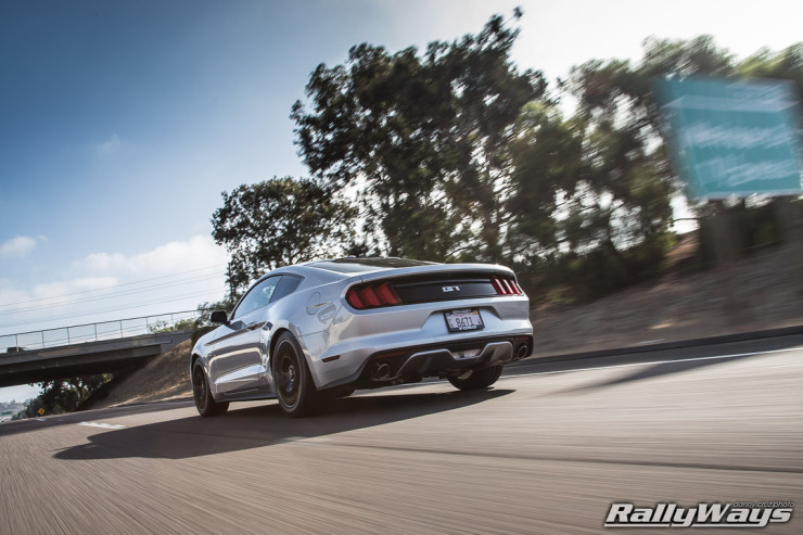 2015 Mustang GT at Speed